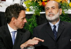Tim Geithner and Ben Bernanke