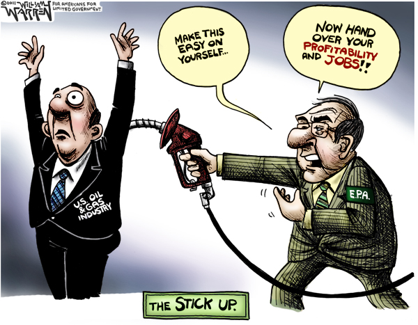The EPA Stick Up